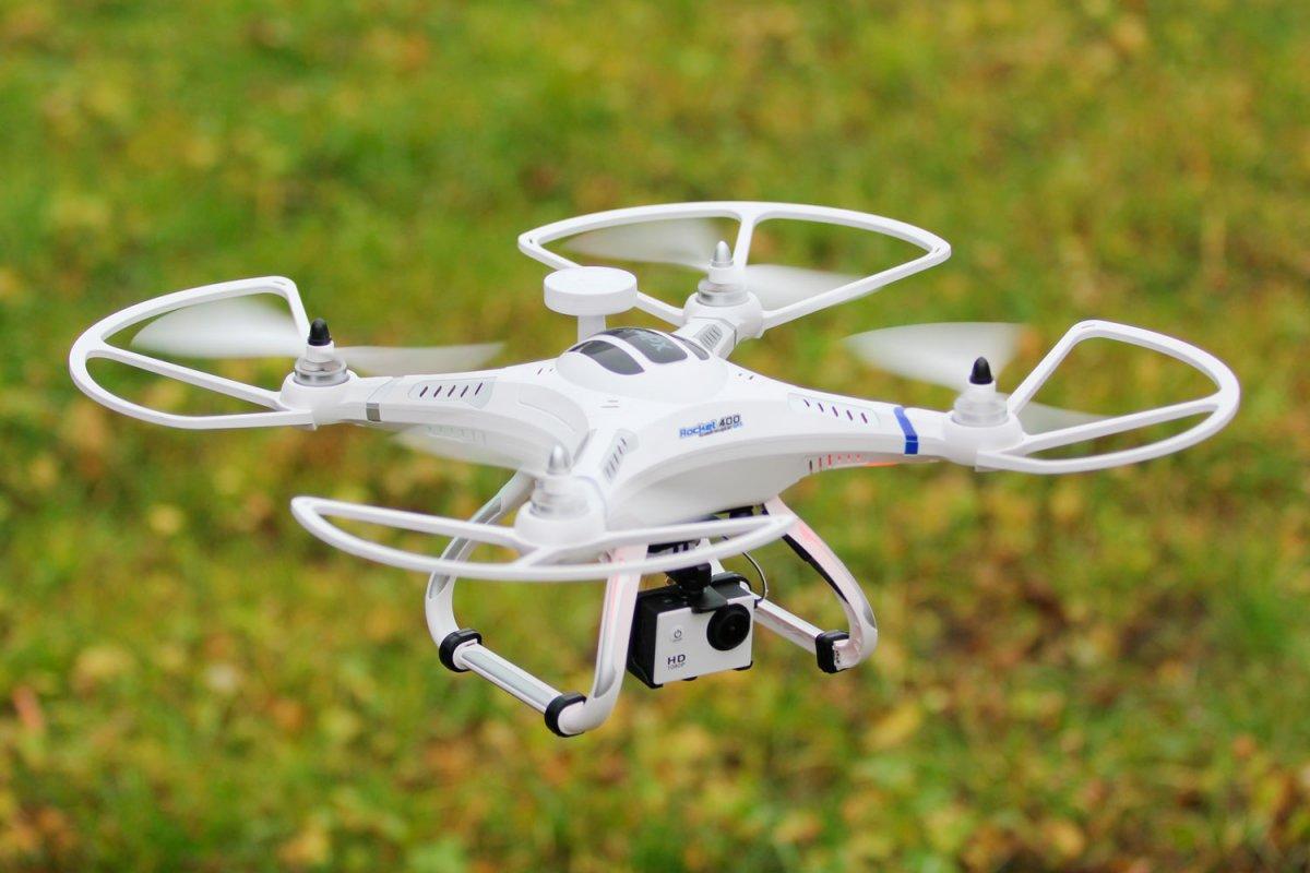 Quadrocopter Rocket 400 FPV GPS - RC-Drohnen.de