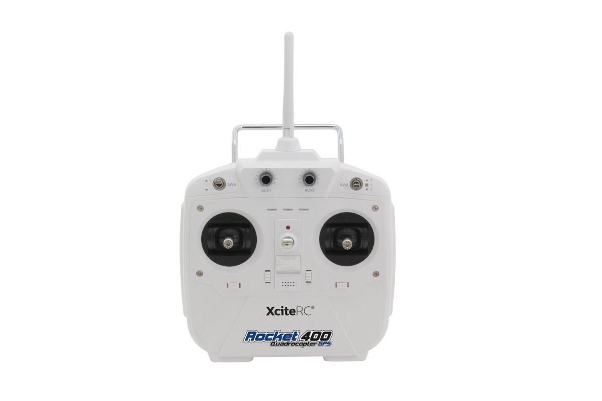 Rocket 400 GPS - RTF Quadrocopter Version III mit HD-Kamera - RC-Drohnen.de