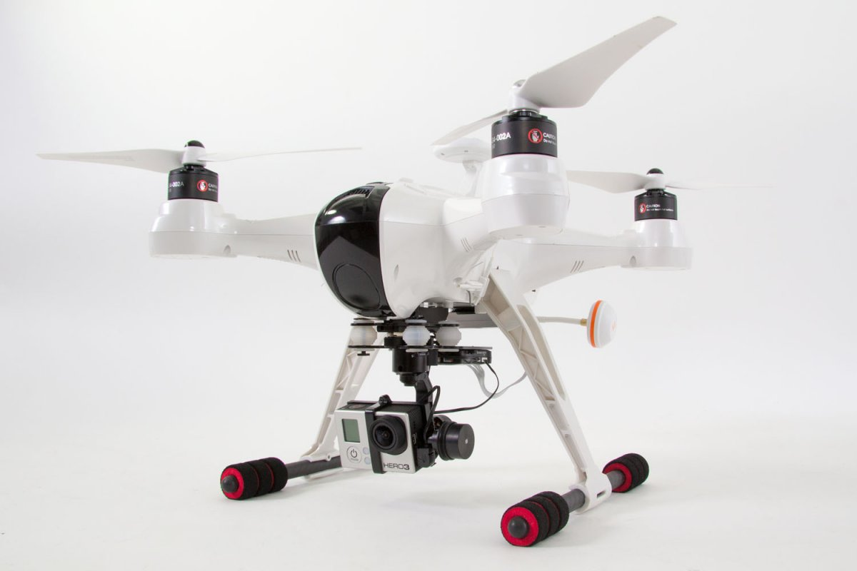 XciteRC Quadrocopter X350 Premium RTF - FPV-Drohne für GoPro Hero3 Kamera - RC-Drohnen.de
