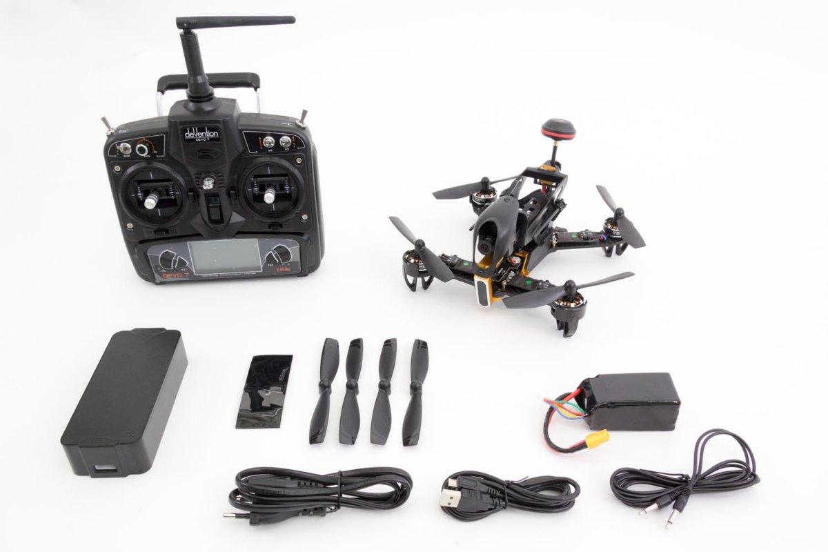 Walkera F210 RTF Racing-Quadrocopter  - RC-Drohnen.de