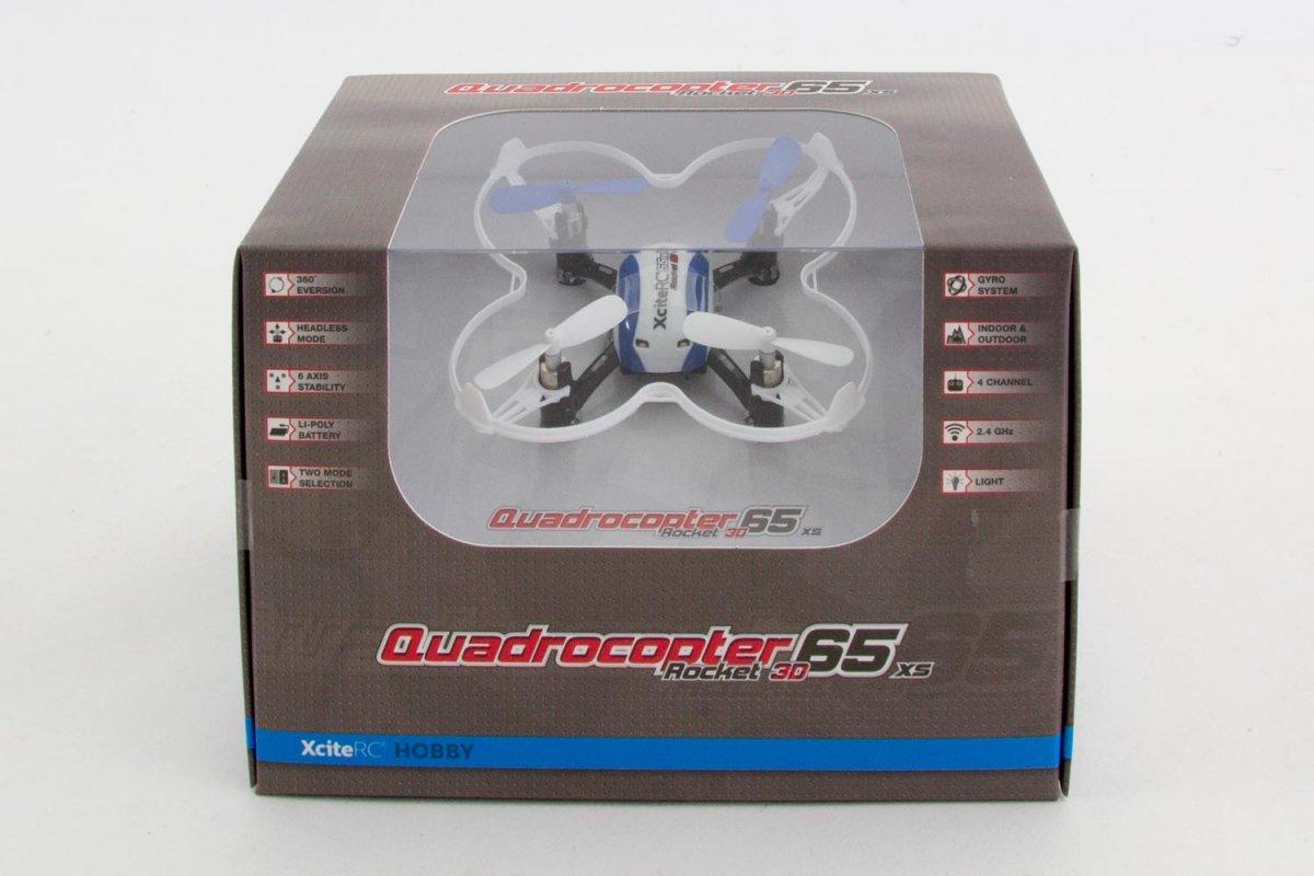 Rocket 65XS 3D - 4 Kanal RTF Quadrocopter - RC-Drohnen.de