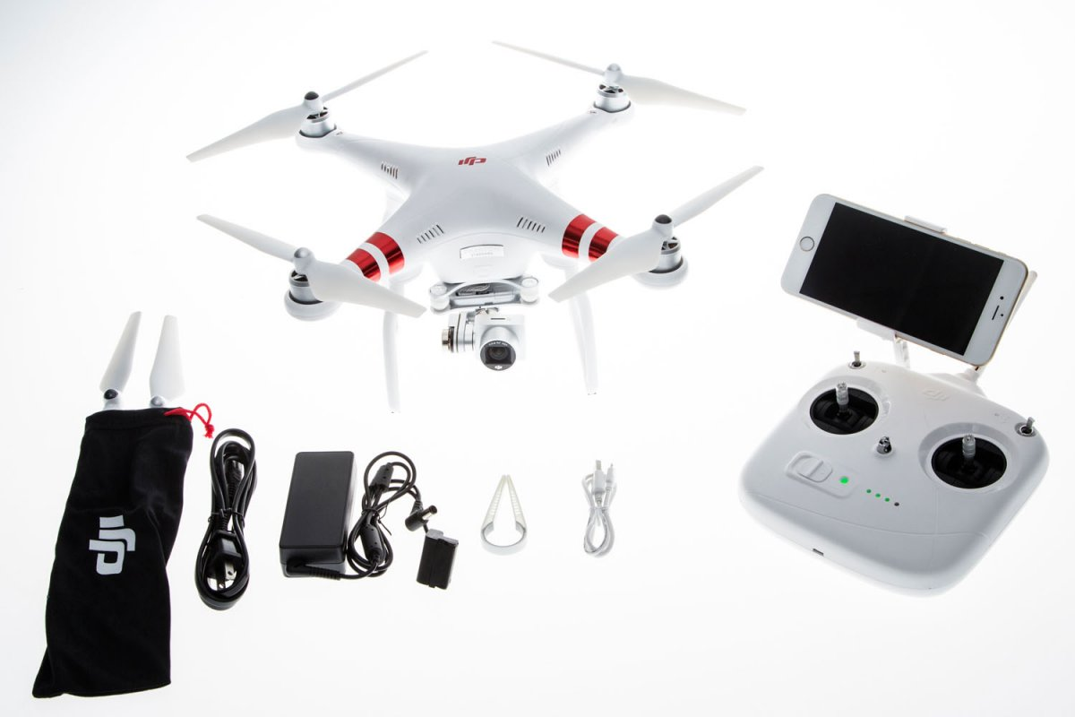 DJI Phantom 3 Standard Quadrocopter - RC-Drohnen.de